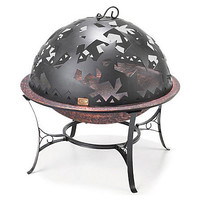 "26"" Autumn Stars Fire Pit w/ Dome"