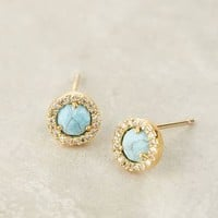 Summer Moon Posts by Anthropologie Turquoise One Size Earrings