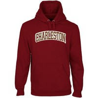 Charleston Cougars Arch Name Pullover Hoodie - Maroon
