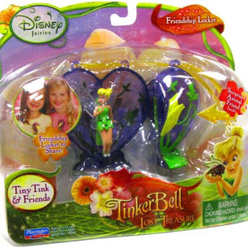 Playmates Toys Disney Fairies Tinkerbell & The Lost Treasure Playset Friendship Locket