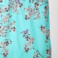 Urban Outfitters - Plum & Bow Bird Blossom Shower Curtain