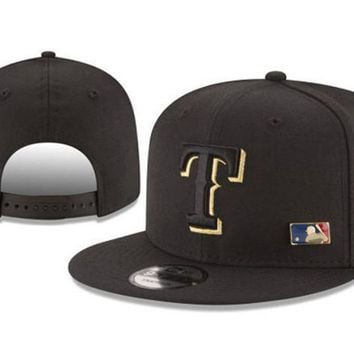New Arrival New Era Black Cap MLB Baseball Fitted Hat-19