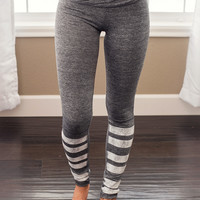 Finish Line Activewear Leggings (Grey)