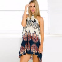 Gypsy Halter Dress