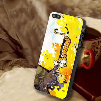 Calvin and Hobbes customized for iphone 4/4s/5/5s/5c, samsung galaxy s3/s4/s5 and ipod 4/5 case