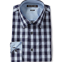 Michael Kors Fred Woven Shirt - Crystal Blue