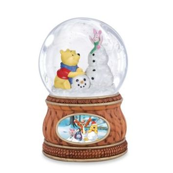 Precious Moments® Pooh & Piglet Musical Water Globe