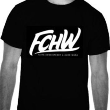 Shop Spoken Reasons — FCHW T-Shirt (White Font)