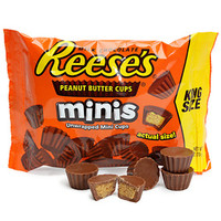 Reese's Minis King Size Packs: 16-Piece Box