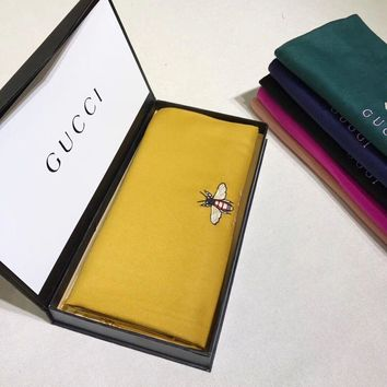 One-nice™ GUCCI Woman Fashion Accessories Sunscreen Cape Scarf Scarves