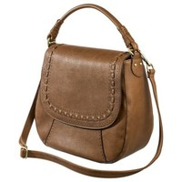 Merona® Hobo Handbag with Removable Crossbody Strap - Brown