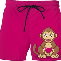 Monkey Love Swim Shorts