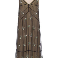 Crystal Embellished Slip Dress | Moda Operandi
