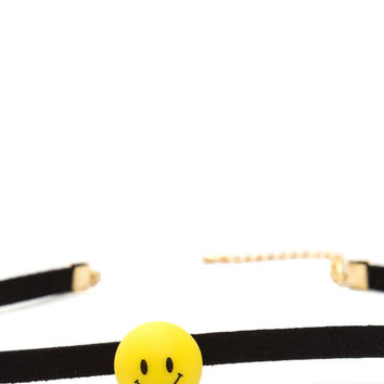 Happy Days Faux Suede Choker