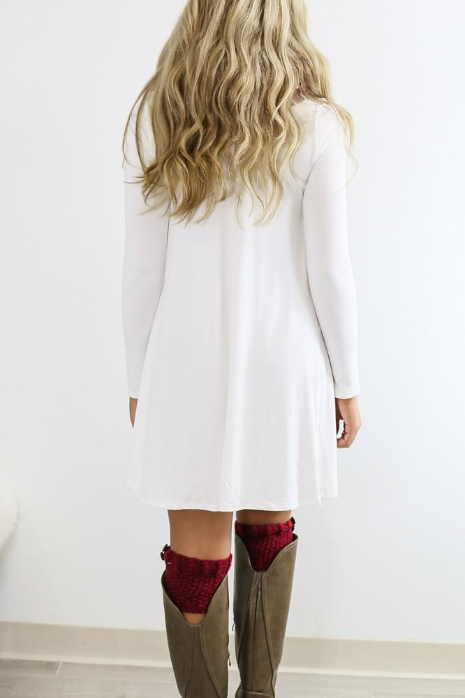 4f08bf6872df Dusk To Dawn White Turtleneck Long Sleeve from Amazing Lace