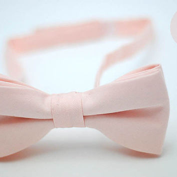 pastel peach bow tie,salmon,pillow case,blush,velcro,peach pillow,pastel cover,toddler,groomsmen,men,peach theme wedding,blush wedding,decor