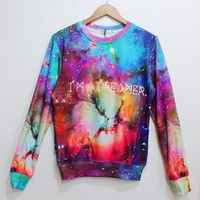 I'm A Dreamer Unisex Lovers Street Fashion Sweater 4 Sizes Available