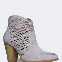 PERFORATED WESTERN BOOTIE