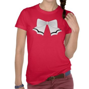 Anime Magical School Girl Bow Shirt from Zazzle.com