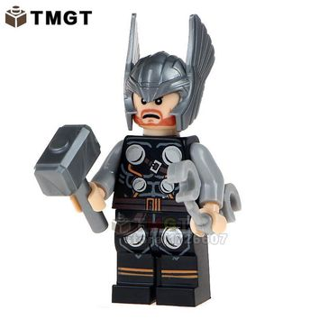 TMGT Building Brick Single Sale MG0004 Thor Ragnarok Armored Iron Man Suit War Machine Super Heroes Christmas Toys For Kids