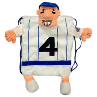 Milwaukee Brewers MLB Plush Mascot Backpack Pal - Hot Dog