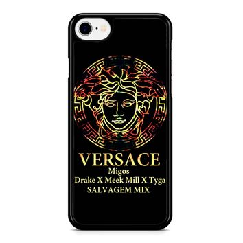 Versace Gold iPhone 8 Case