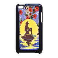 Ariel Little Mermaid Disney Flower Vintage iPod Touch 4th Generation Case