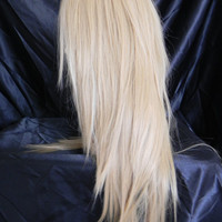 CYBER WEEK SALE // Champagne / Dirty Honey Blonde / Long Straight Layered Wig
