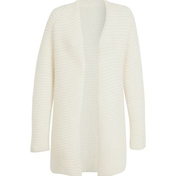 maje GLACIER Angora Blend Cardigan at Maje US