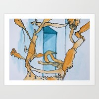 Watercolor I Art Print by Alayna H.