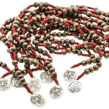 20 Saint Michael Chaplet Rosary & 20 Pocket Prayer Booklets