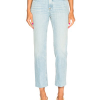 rag & bone/JEAN High Rise Ankle Straight in Nelly | FWRD