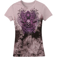 Bullet For My Valentine Women's  Bullet Skull Girls Jr Purple