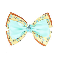 Pokemon Squirtle Cosplay Hair Bow