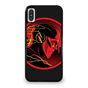 THE FLASH HEAD iPhone 5/5S/SE 5C 6/6S 7 8 Plus X/XS Max XR Case Cover