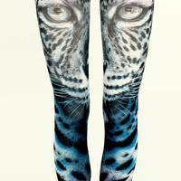 Tiger Leggings Women Sexy Skinny Slim Hot Summer Leggings Yoga Pants Workout Fitness Beach Leggings Tropical Pants Spandex Tights