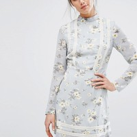 Missguided Floral Tea Dress at asos.com