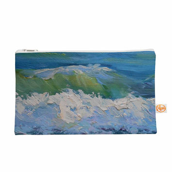 "Carol Schiff ""The Pastel Sea"" Purple Blue Everything Bag"
