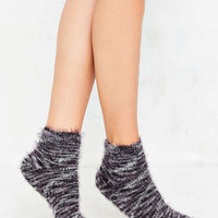 Out From Under Feathery Marled Ankle Sock - Urban Outfitters