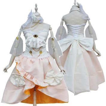 LoveLive! Minami Kotori Cosplay Costumes Romantic Wedding Dress