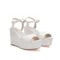 LACQUERED WEDGE - Shoes - Woman | ZARA United States