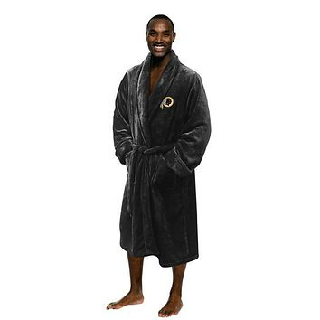 "Washington Redskins NFL 26""x 47"" Large/Extra Large Silk Touch Men's Bath Robe"