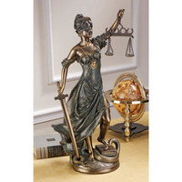 Goddess of Justice - Themis Statue: Large - QL149321 - Design Toscano