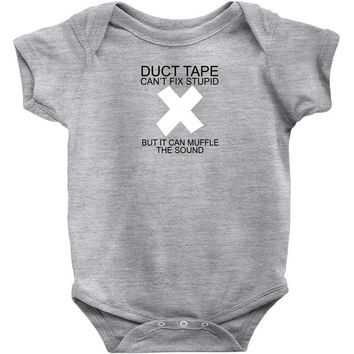 duct tape Baby Onesuit