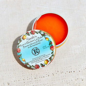 Smiths Rose & Mandarin Lip Balm Tin - Urban Outfitters