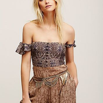 Free People Chainmail Hip Satchel