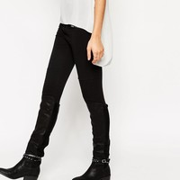 New Look | New Look Over The Knee Stud Boots at ASOS