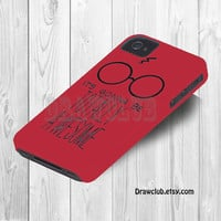IPhone5 IPhone4 IPhone4S Case - Harry potter case By Drawclub Free Shipping and Sale  for summer time (only1-30 april)