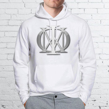 Dream Theater Logo Art Silver Unisex Hoodies - ZZ Hoodie