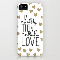 A Little Thing Called Love iPhone & iPod Case by Hitchdesign